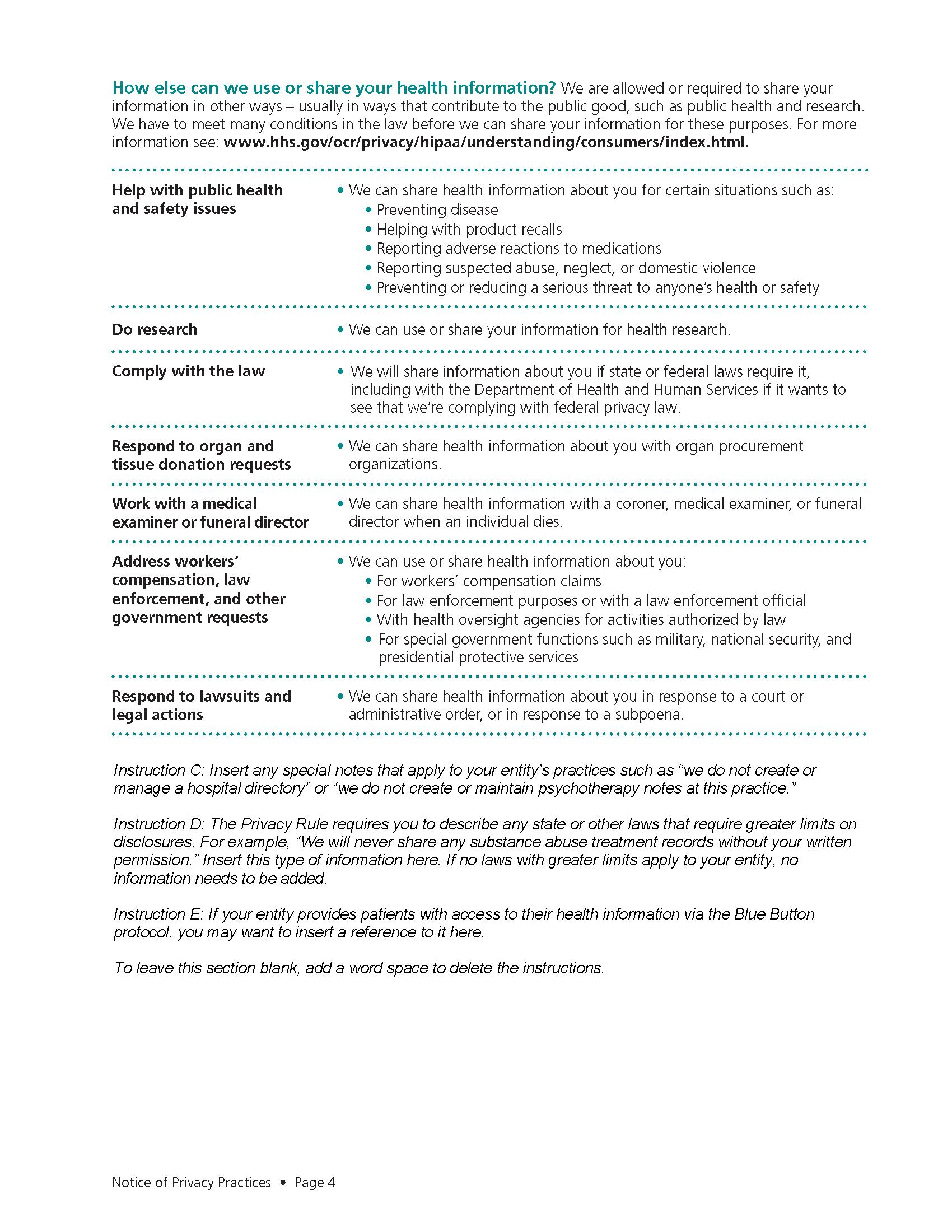 HIPAA page 4
