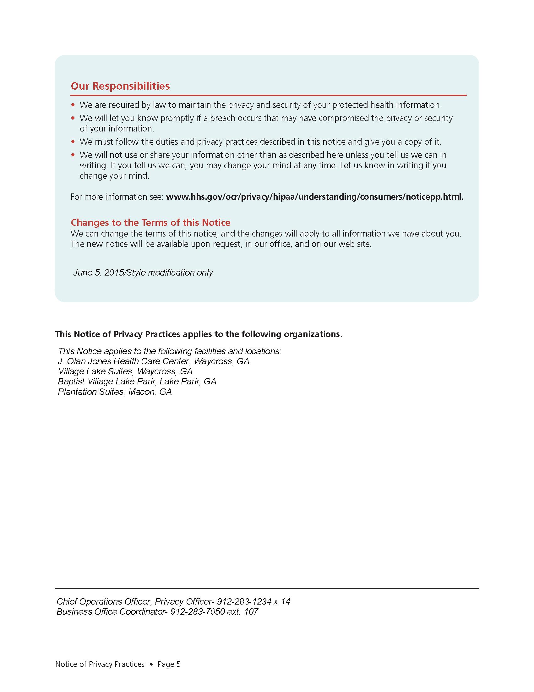 HIPAA page 5